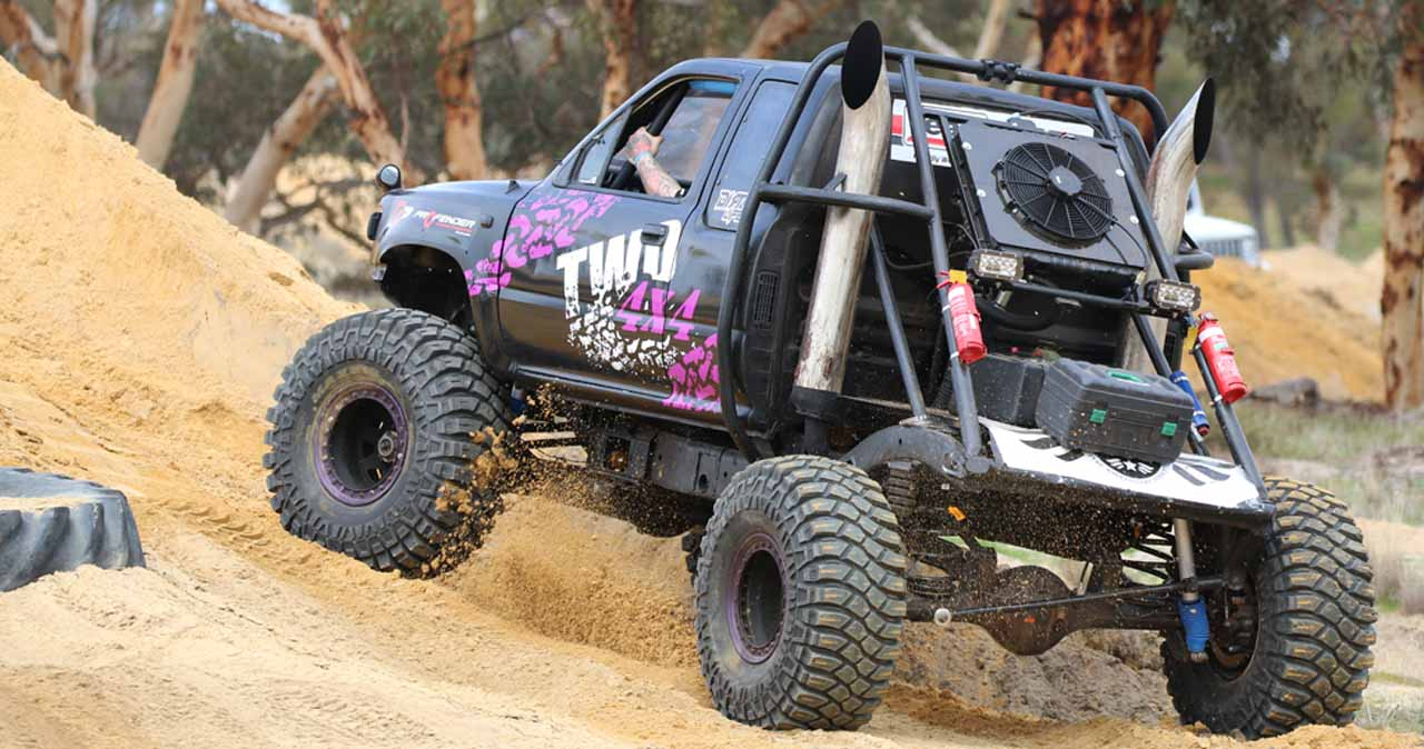 TWD4x4 Roadcruza Tyres Beyond Blue Charity 4x4 Event