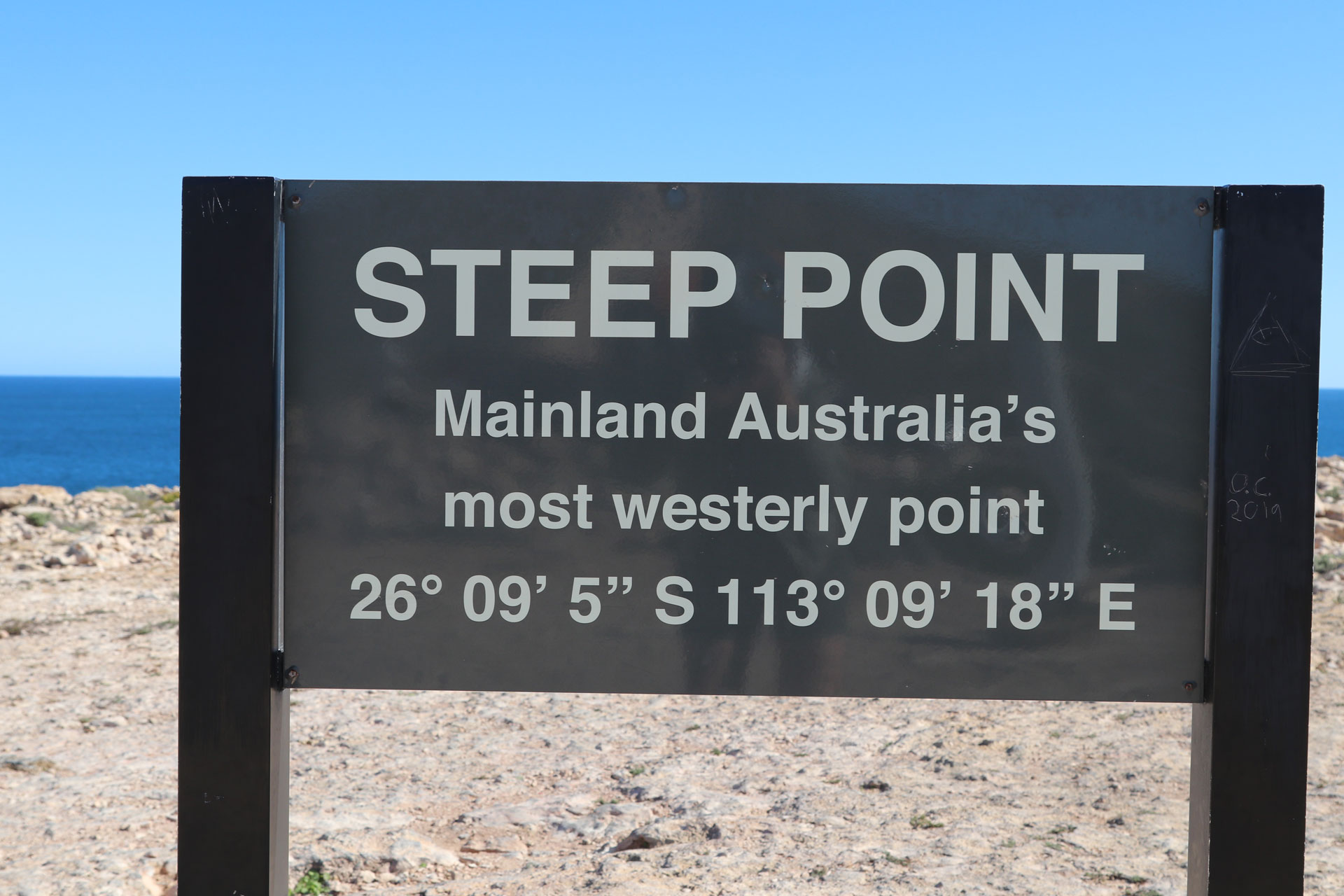 Steep Point Most Western Point Australian Continent