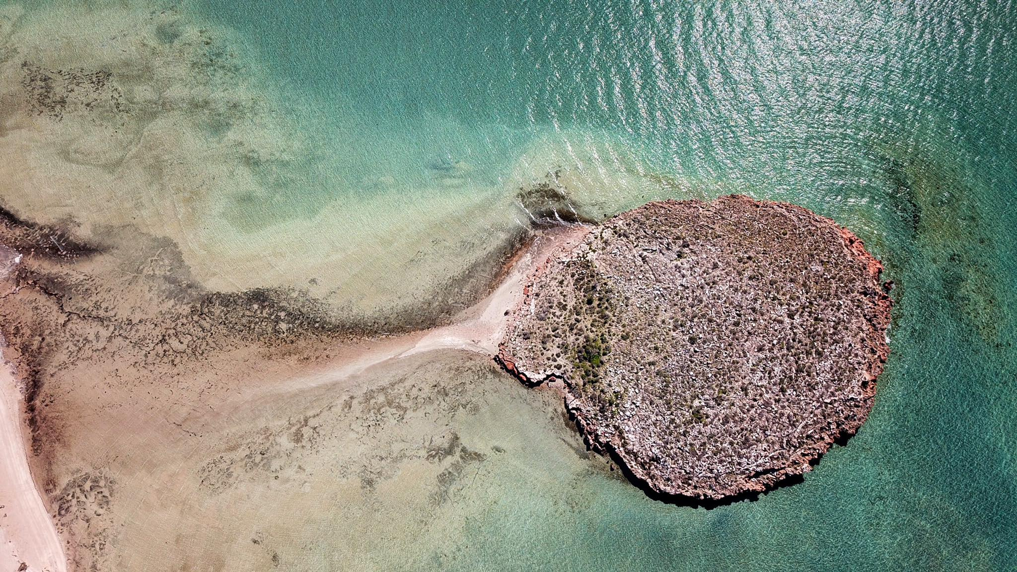Three Bays Tamala Station Shark Bay Aerial