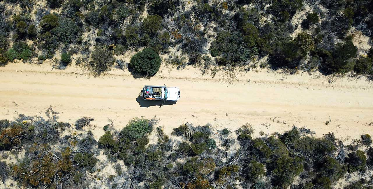 Holland Track 4WD route Western Australia