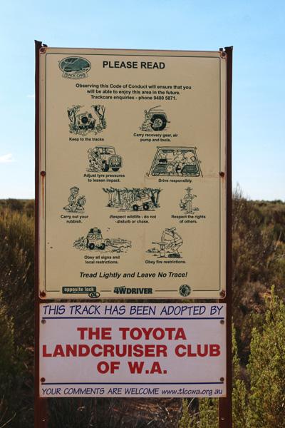 Toyota Landcruiser Club of WA Holland Track