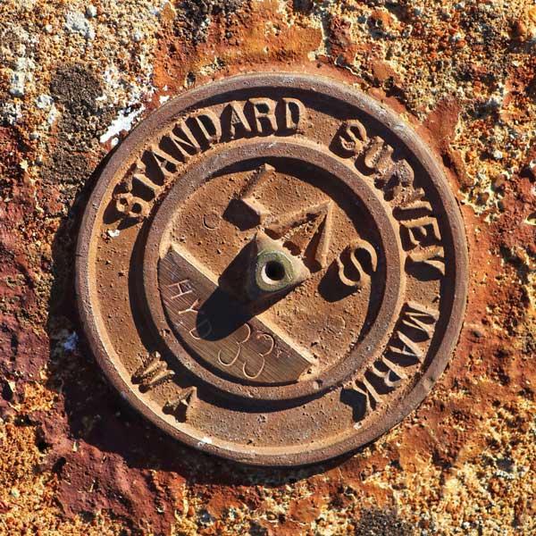 Standard Survey Marker Navigation Point Holland Track