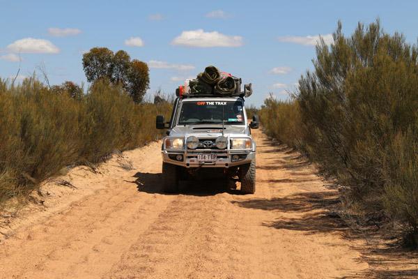 Woodline 4WD Track Landcruiser 4x4